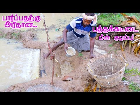 Pathakattai Fish Catching | Cooking | Fishing in Village using traditional fish catching technology