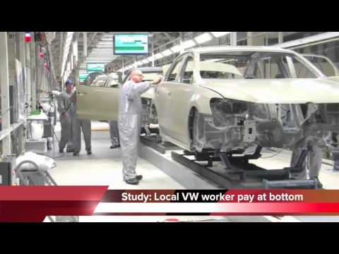 VW Chattanooga employees lowest paid of all U.S. auto workers