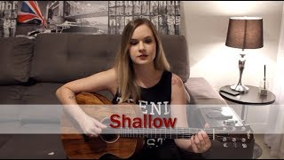 Shallow | Lady Gaga feat. Bradley Cooper | Carina Mennitto Cover