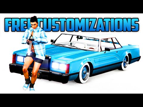 GTA 5 Online - How To Fully Customize Any Car FREE At Benny's To Preview Upgrades! (GTA 5 Tricks)