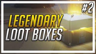 Overwatch Loot Box Opening - Legendary Streak! - (#2)
