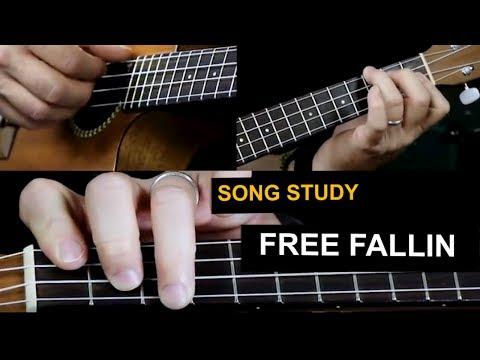 How to play Free Fallin on ukulele - Tom Petty ukulele songs