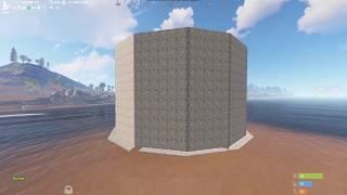 Rust. Ивент на весь вайп - каменный дом на сервере FunnyVille x10