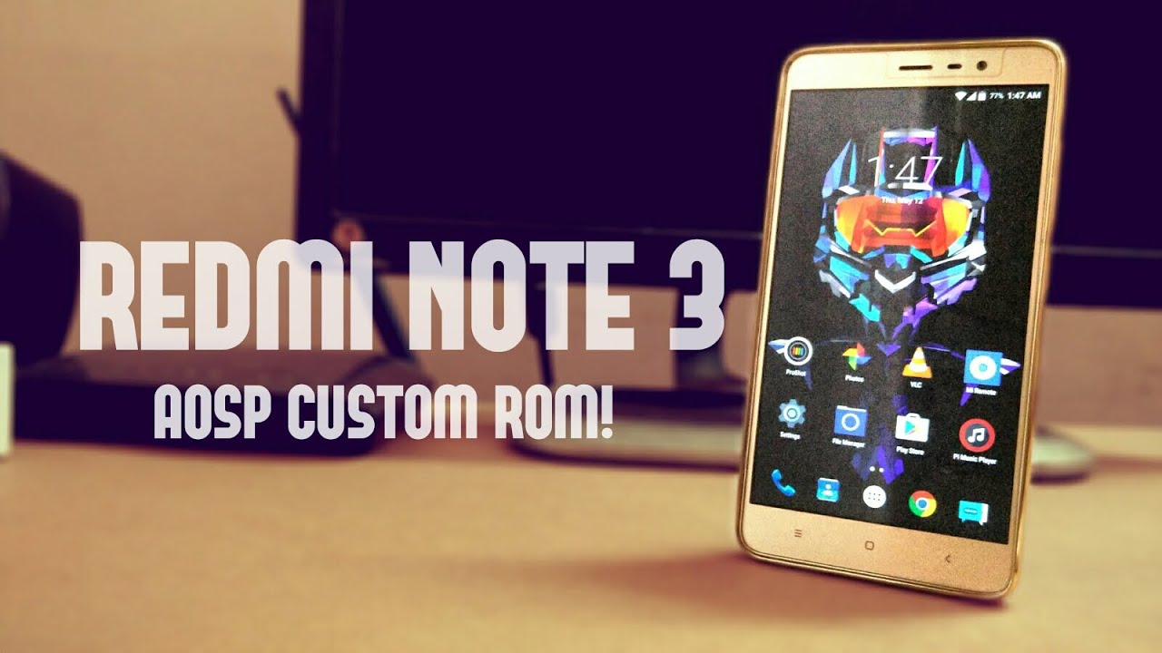 Xiaomi Redmi Note 3 Custom ROM Android Lollipop 511 STABLE REVIEW