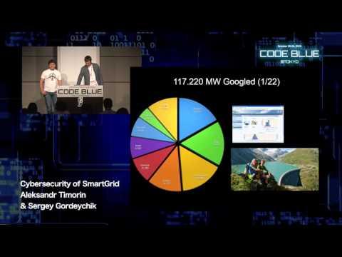 Cybersecurity of SmartGrid by Aleksandr Timorin & Sergey Gordeychik - CODE BLUE 2015