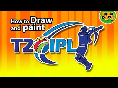 IPL - Indian Premier League | T20 Twenty20 cricket league | IPL LOGO |TADA-DADA Art Club