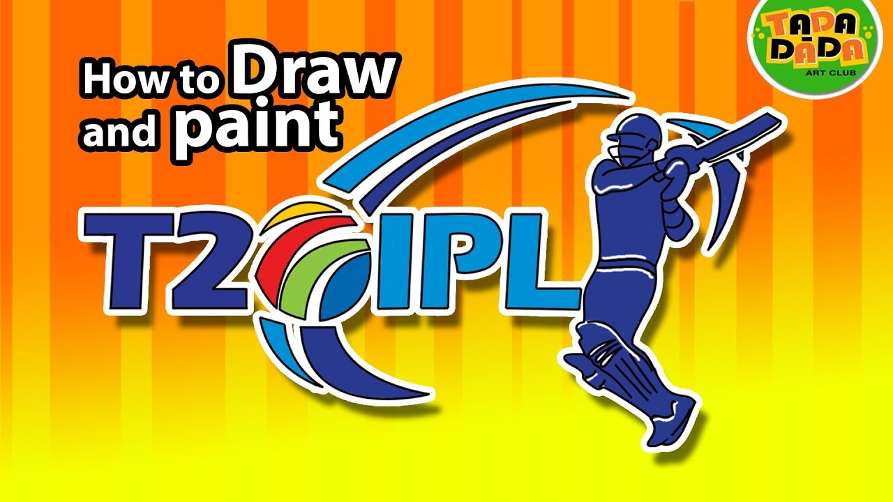 Ipl Indian Premier League T20 Twenty20 Cricket League Ipl Logo Tada Dada Art Club