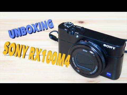 แกะกล่อง Sony RX100M4 ( Unboxing )