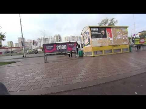 прогулка в районе  Южного автовокзала Екатеринбург
