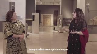 مجموعة من الألواح الخشبية المحفورة والتي كانت تزين قصور الخلفاء الفاطميين بمتحف الفن الإسلامي