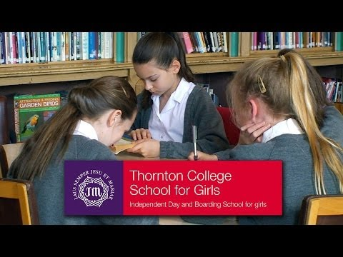 Thornton College English - The English Department at Thornton, day and boarding school for girls.