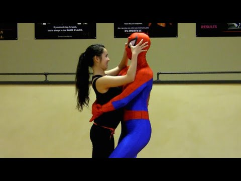 Thumbnail: Self-Defense for Kids with SPIDER-MAN | episode 14 (Smart Targeting Lesson #2)