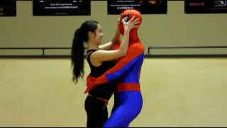 Self-Defense for Kids with SPIDER-MAN | episode 14 (Smart Targeting Lesson #2)