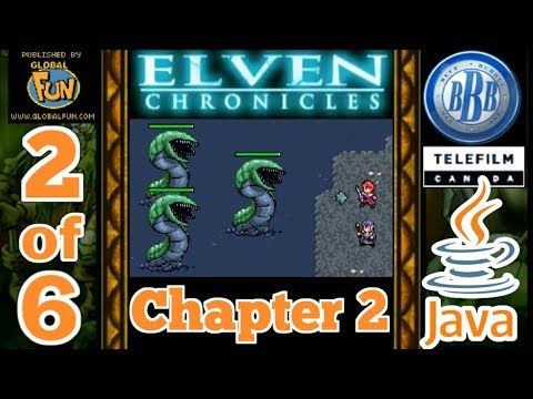 Download Elven Chronicles JAVA GAME (Big Blue Bubble 2007 year) PART 2