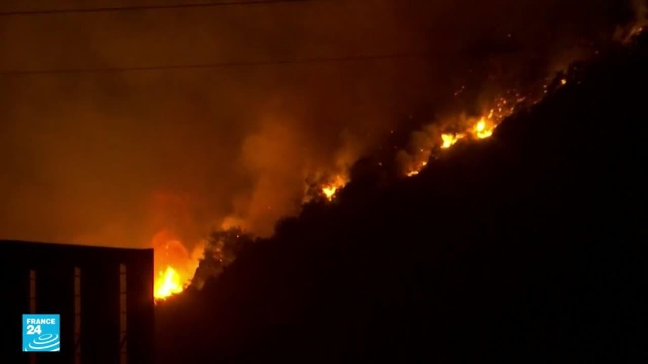 لحظات مرعبة يعيشها سكان ميلاس التركية مع اقتراب الحرائق من محطة للطاقة الحرارية  - نشر قبل 1 ساعة