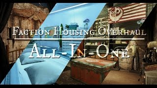 Fallout 4 Mods- Faction Housing Overhaul by Elianora