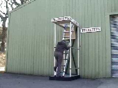 Telesteps Loft Ladder Demonstration Youtube