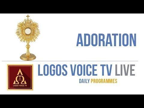22-APR-2020 | Adoration | Holy Mass | English | Logos Voice TV | Logos Retreat Centre, Bangalore