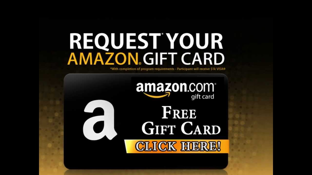 how to get a free amazon gift card how to get free amazon gift cards 100 legal youtube 4328