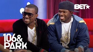 Download #TBT 50 Cent & Kanye West Go Head To Head On Who Has The Best Album  | 106 & Park Mp3 and Videos