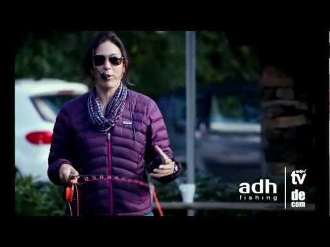 Adh-fishing TV - April Vokey With Her Fly Casting Demo On Our Fly Fishing Show