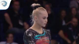 Angelina MELNIKOVA (RUS) - 2019 Artistic Gymnastics European bronze medallist, all around