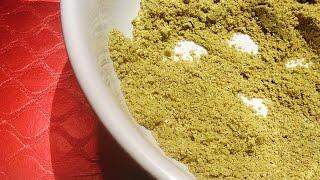 Homemade Green Chilli Powder