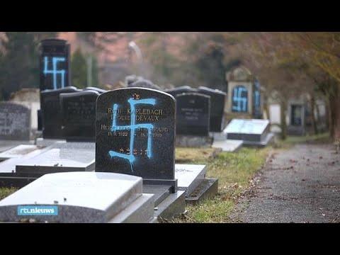 Hakenkruizen Gespoten Op Tachtig Joodse Graven In Frankrijk Rtl