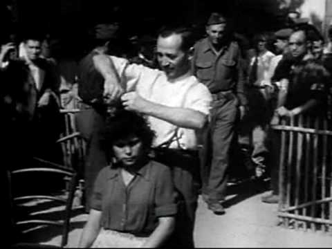 Woman vs french 1945