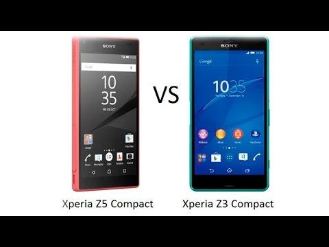 Z5 Compact vs Z3 Compact [Что купить у Sony]