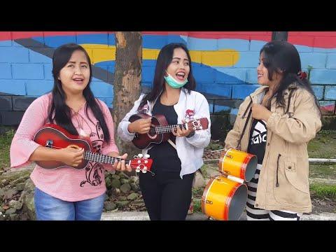 Tiga Gadis Cantik Pengamen Bus Mahir Bermain Okulele dan Kendang Beraksi Kembali