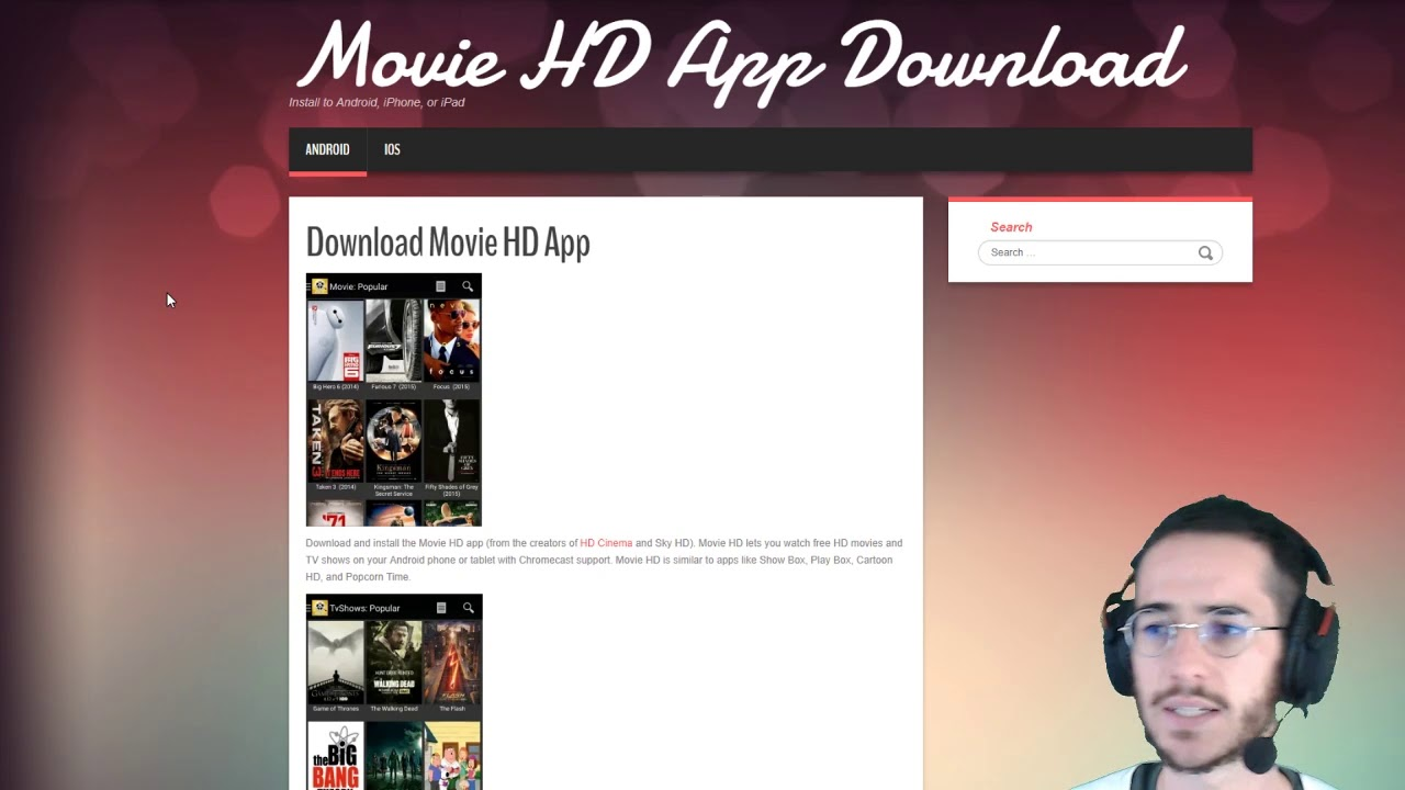 apps similar to popcorn time