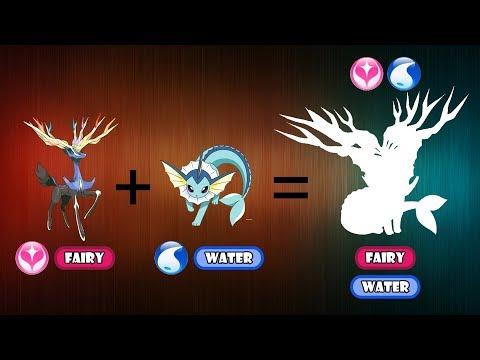 Pokemon Fusion Requests #126: Vaporeon + Xerneas.