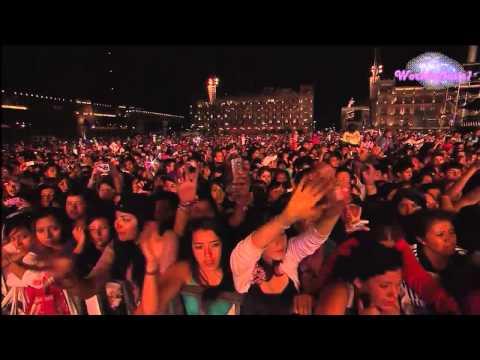 Justin Bieber - Die in Your Arms Acoustic (En El Zocalo De México Oficial HD)