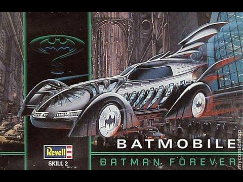 Batman Forever 1995 Batmobile Model