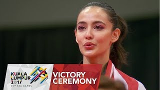 Gymnastics Artistic Victory Ceremony Women's Floor Exercise | 29th SEA Games 2017