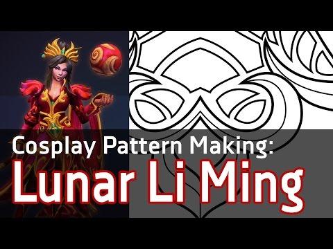 [Cosplay Pattern Vector] Lunar Li Ming