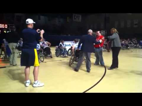 IHSA Wheelchair Basketball State 2011 GLASA Wave 3rd Place!