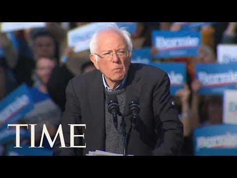 'I Am Back,' Bernie Sanders Tells Supporters At NYC Rally With Alexandria Ocasio-Cortez | TIME
