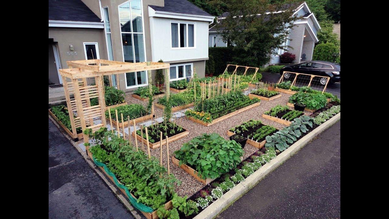 gardening ideas - raised garden