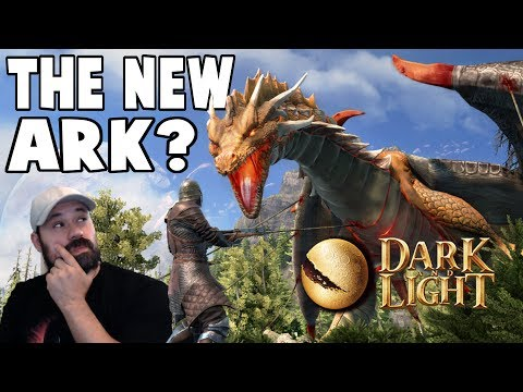 New Crafting, Building, Taming, Magic, Survival Game | Dark And Light Let's Play Gameplay PC | E01