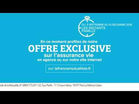 Spot 15' La France Mutualiste Offre Assurance vie