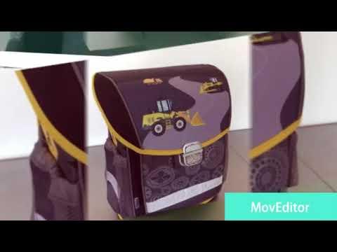 f7835955a3 Kompaktná školská taška REYBAG Bager - YouTube