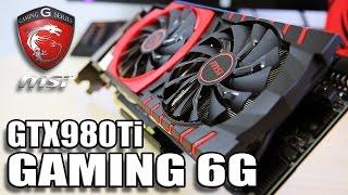 msi gtx980ti gaming 6g performance review