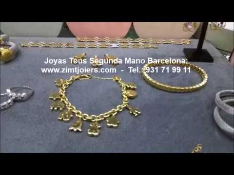a2802b804fc9 Joyas Tous segunda mano Barcelona
