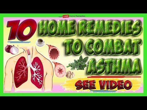 ASTHMA TREATMENT Home Remedies Cure Asthma Naturally top 10