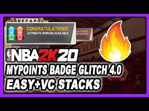 NBA 2K20 *NEW* MAX BADGE + MYPOINTS COLLEGE DIFFICULTY GLITCH 4.0! VC STACKS! DENSKI CERTIFIED