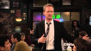 Barney Stinson - Challenge Accepted Compilation from How I M...