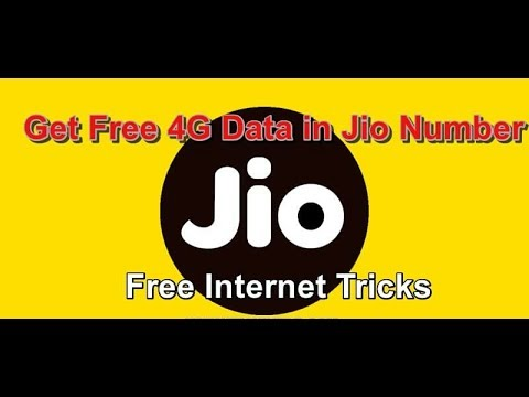 HOW TO GET JIO FREE DATA || HERE IS THE FREE DATA TRICK