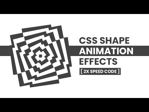 CSS Creative Shape Animation Effects | CSS Animation thumbnail
